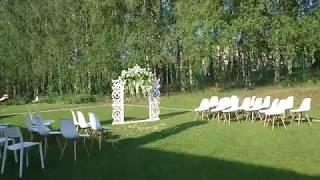 Как поставить стулья на выездную церемонию