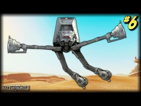 Star Wars Battlefront 2 - Funny Moments #6 (AT-AT Random Moments!)