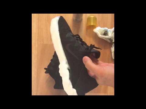 Life hack How to clean Nike frees wie bekommt man Nike-free in 3min sauber