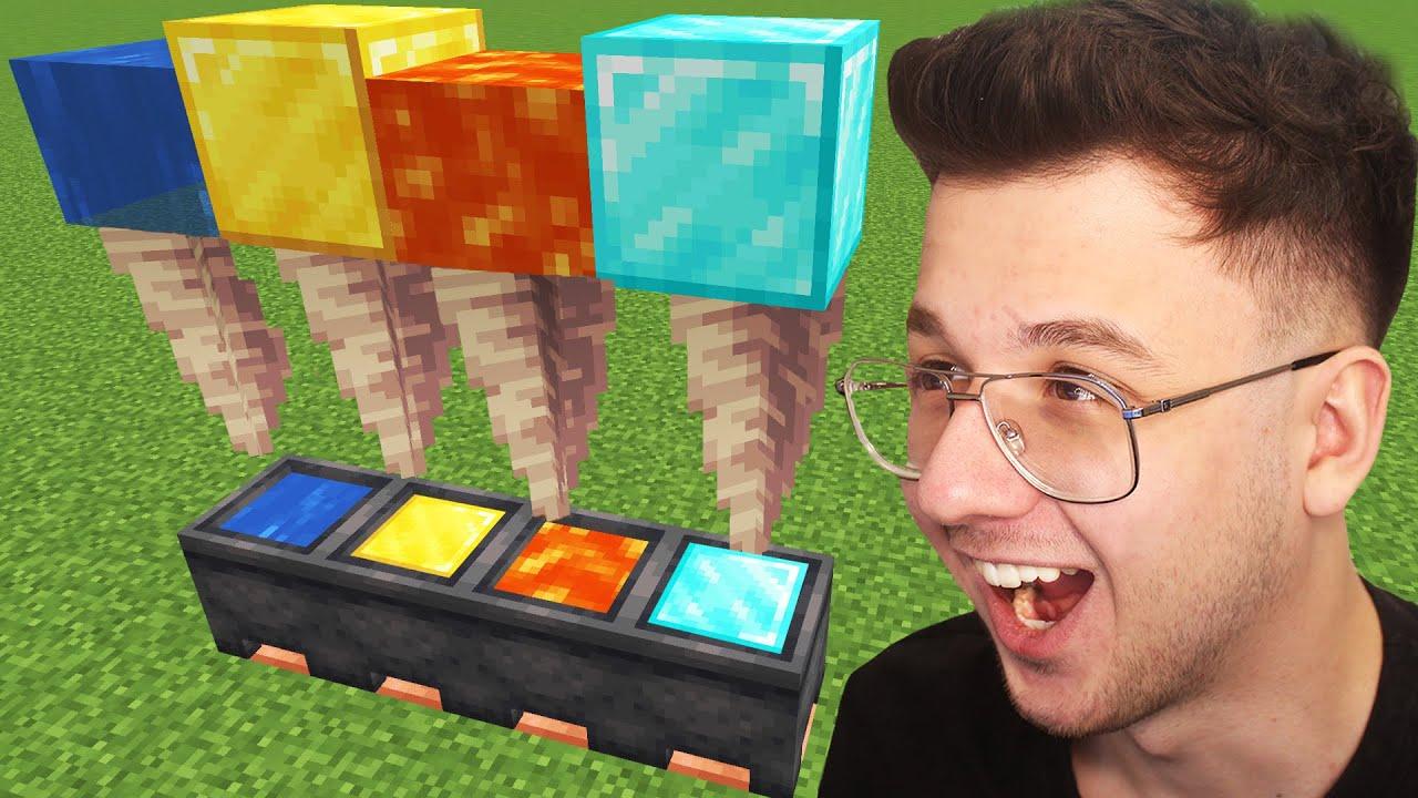 VİRAL minecraft TİKTOK hilelerini denedim! 8