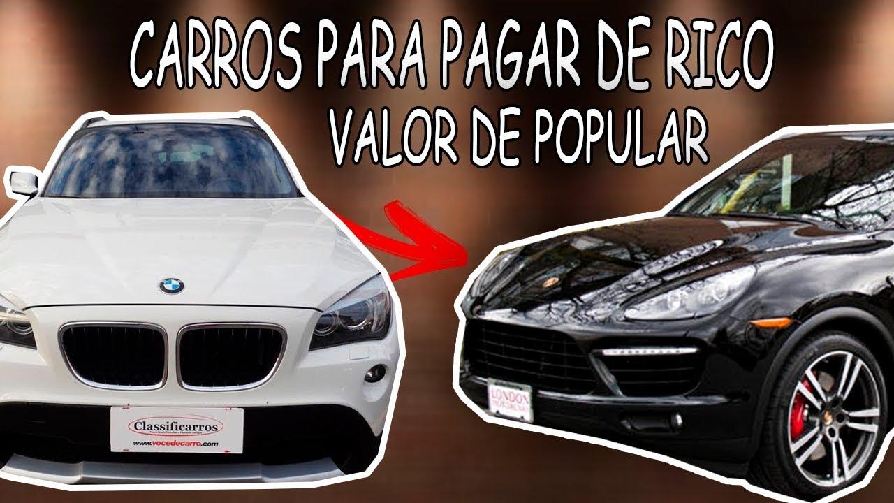 TOP 5 CARROS QUE FAZEM VOCÊ PARECER RICO !
