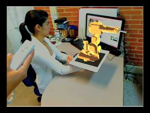 Augmented Reality Framework: Analysis and Implementation of a Gestural Programmed Robotic Cell v3