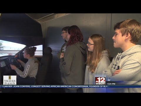 DUI simulator comes to Gilmer County High School