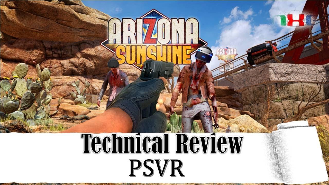 Arizona Sunshine Technical Review Visual Comparison Psvr Ps4pro Ps4 Farpoint Playstation 4 Reg All