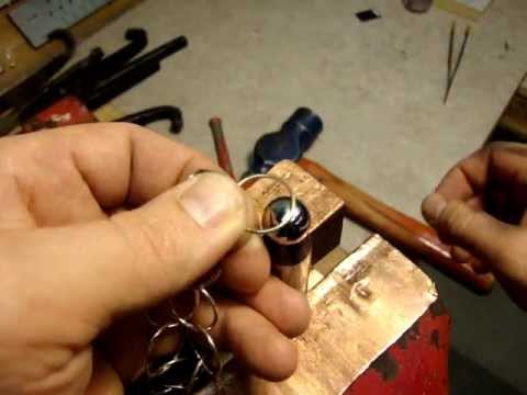 Jewelry Making Handmade Gold Chain Tutorial Part 1 KATSOFFcom