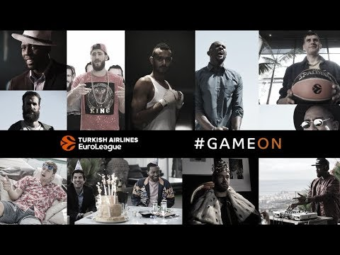 GAME ON! Turkish Airlines EuroLeague stars present new season with original video clip and song Mp3