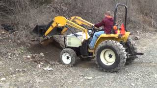 cub cadet 7260 4wd with loader