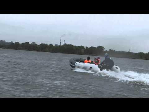 Аквилон (Aquilon) - надувная моторная лодка ПВХ с дном низкого давления (НДНД) 052