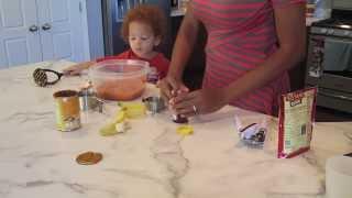 In The Kitchen - Banana Pumpkin Bread
