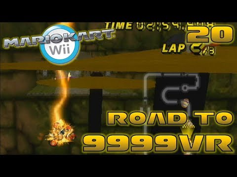 Betrayed By Hardware - Road to 9999vr Ep 20 - Mario Kart Wii Wiimmfi CTGP