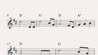 Video Free easy violin sheet music, Lullaby by Brahms download MP3, 3GP, MP4, WEBM, AVI, FLV Juni 2018