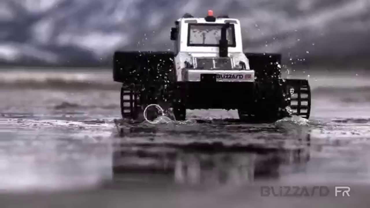 BLIZZARD FR 1/12 EP Track Vehicle Readyset RTR 34901 - KYOSHO RC