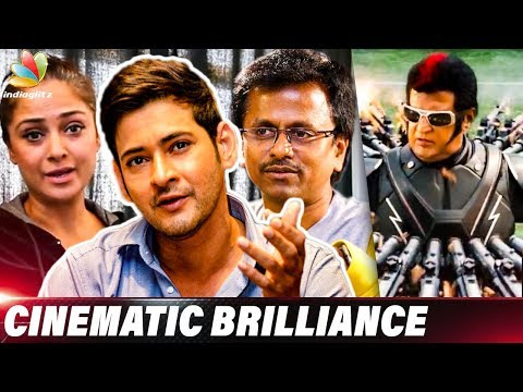 2.0 is Cinematic Gem : Mahesh Babu Reaction to Enthiran 2 | A.R.Murugadoss, Simran | Rajinikanth