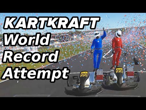 Can I beat the World Record of KartKraft? | VR Gameplay |