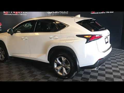 White 2017 Lexus NX 200t Executive Package Review Edmonton Alberta - Lexus Of Edmonton