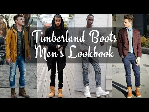 How To Style Men's Timberland Boots Winter 2018 - LOOKBOOK