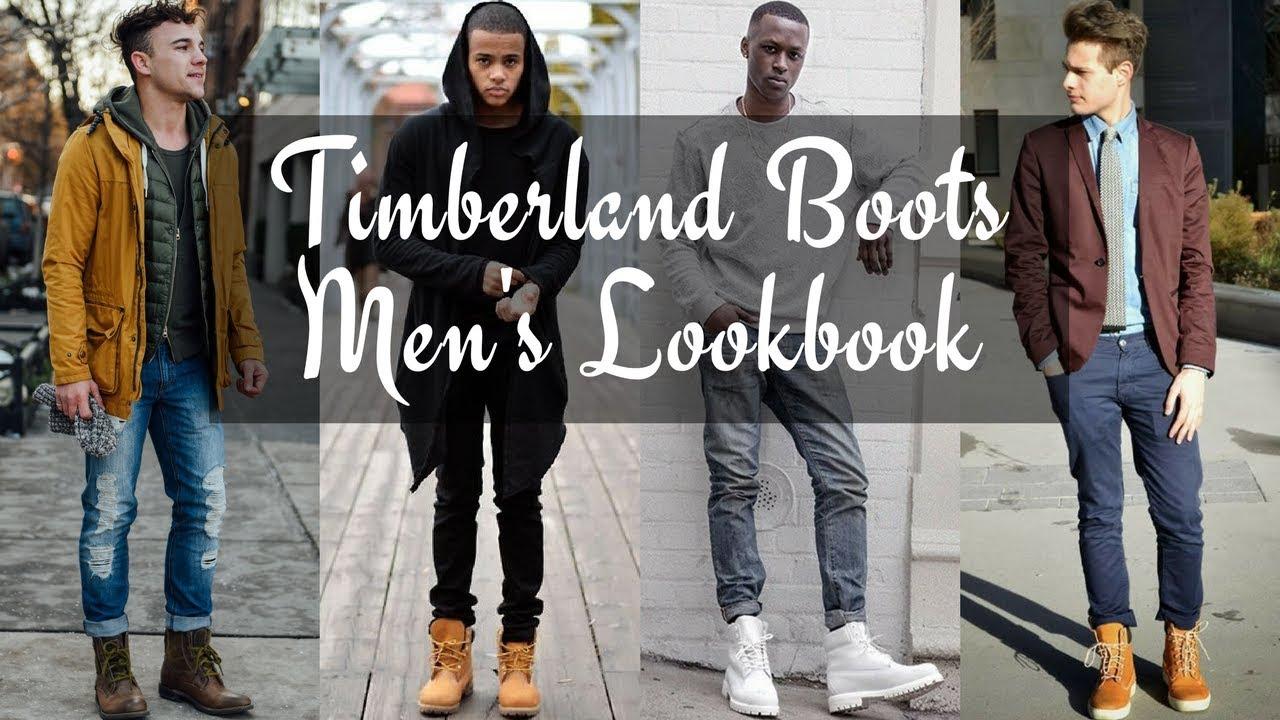 Guys Wearing Timberlands