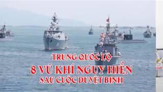 Trung Quốc lộ 8 vũ khí nguy hiển sau cuộc duyệt binh