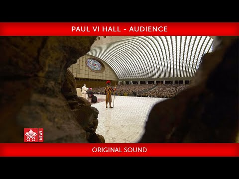 28 September 2020 Paul VI Hall Audience with the Vatican Inspectorate of Public Security