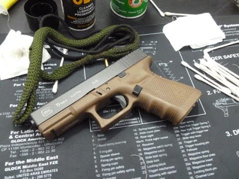 Gun Cleaning Tips - Cleaning the Glock 19