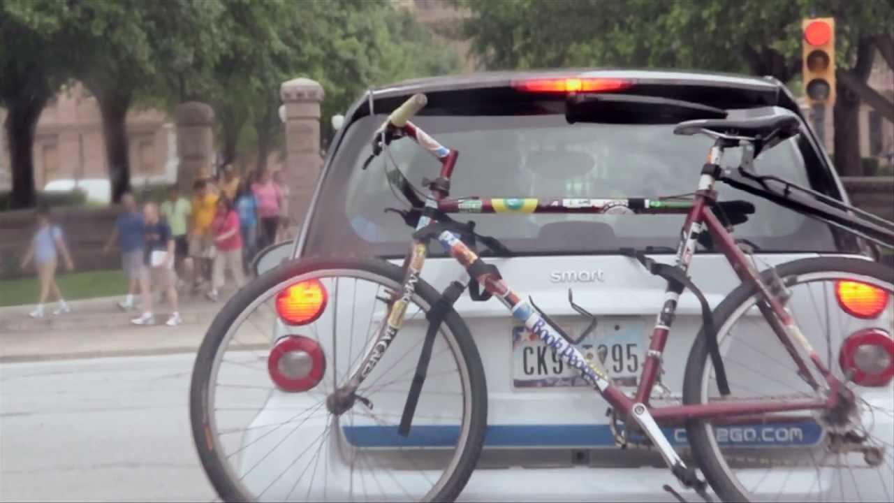 Free2go Worlds Smallest Bike Rack Youtube