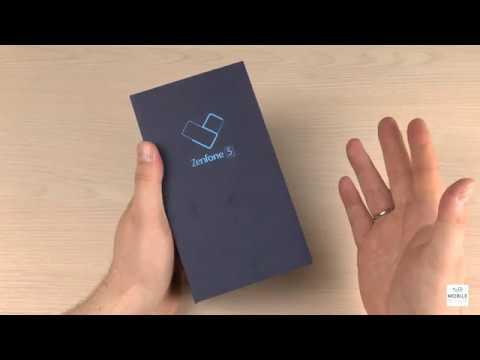 Распаковка ASUS Zenfone 5 и краткое впечатление
