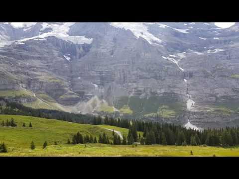 Kleine Scheidegg to Jungfraujoch cog wheel train ride