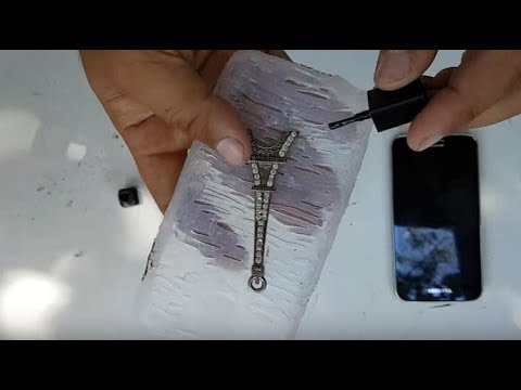 Thumbnail: HOW TO MAKE A PHONE CASE WITH HOT GLUE