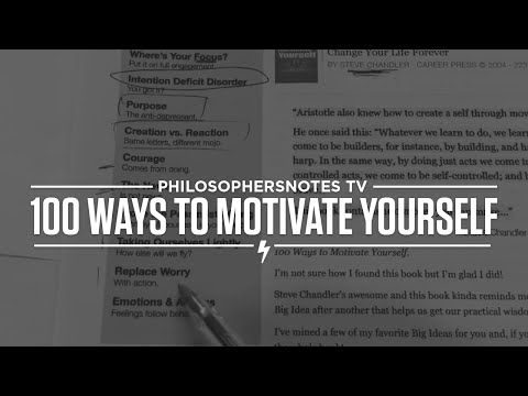PNTV: 100 Ways to Motivate Yourself by Steve Chandler