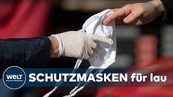 CORONA-KRISE IN DEUTSCHLAND: Bad Homburg versorgt Einwohner mit Gratis-Schutzmasken