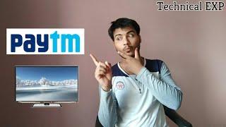 Paytm TV - paytm live TV launch. watch TV Free