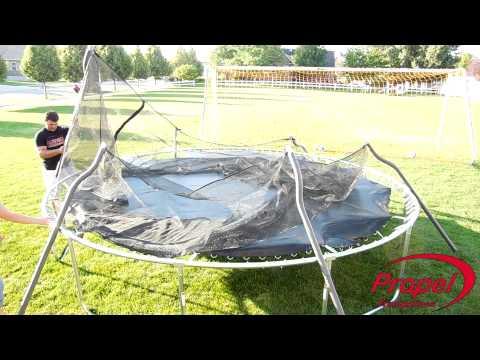 Superjumper Trampoline Enclosure Installation Instruction