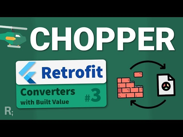 Chopper (Retrofit for Flutter) #3 – Converters & Built Value Integration - Dart HTTP Client Tutorial