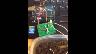 arduino датчики влажности почвы из гвоздей