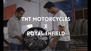 Royal Enfield Custom World LIVE | Ep. 7 TNT Motorcycle