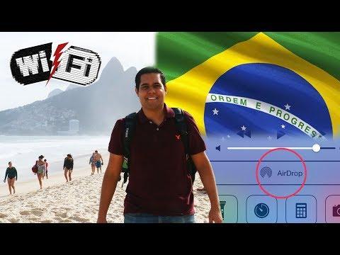 HackTrip en Rio de Janeiro con Wifi Cracking y Airdrop Hacking de Mac