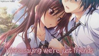 ✧Nightcore - We're Just Friends (lyrics)