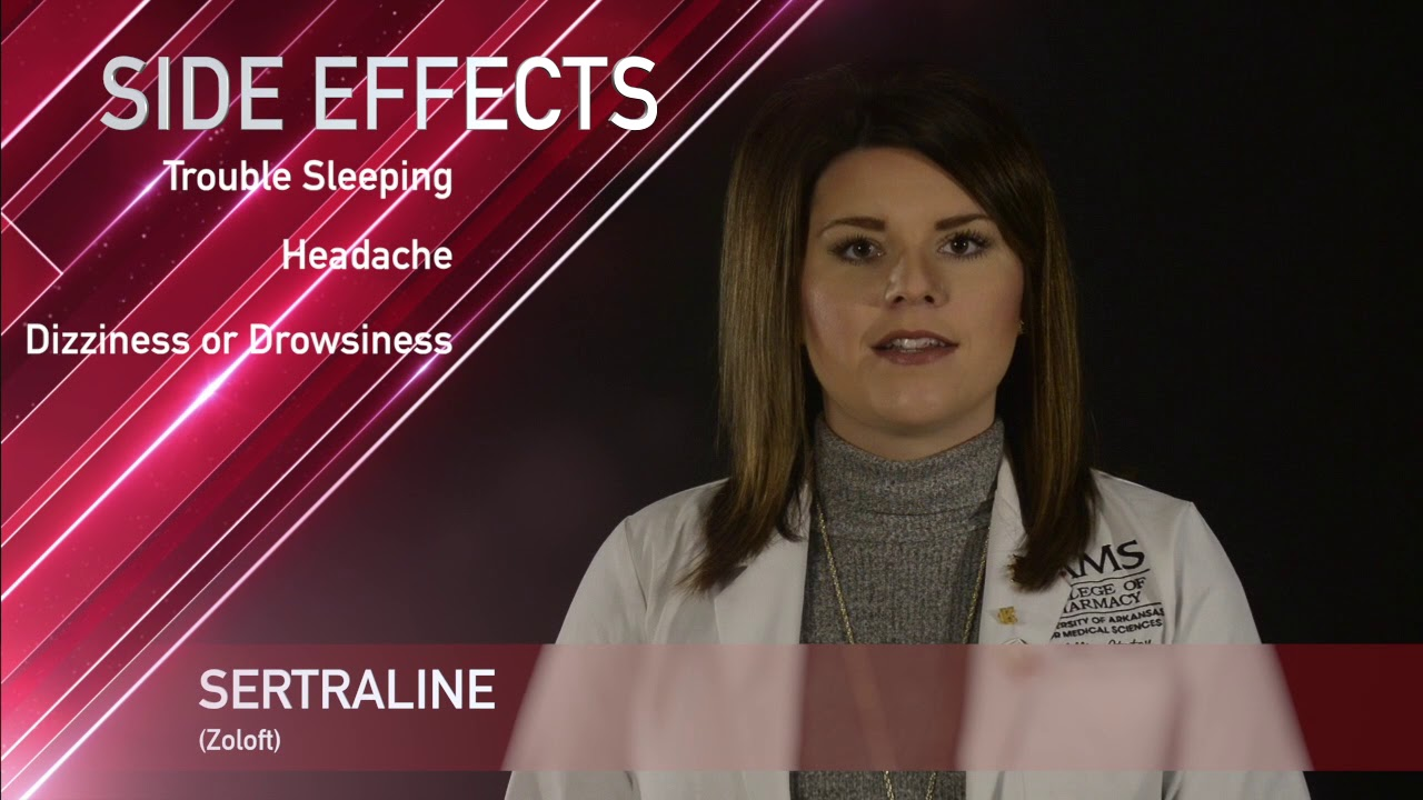 Sertraline or Zoloft Medication Information (dosing, side effects, patient  counseling)