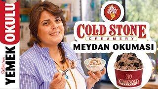 Cold Stone Tava Dondurma Challenge Meydan Okuması Rulo Tayland Dondurmasını Evde Yapmak