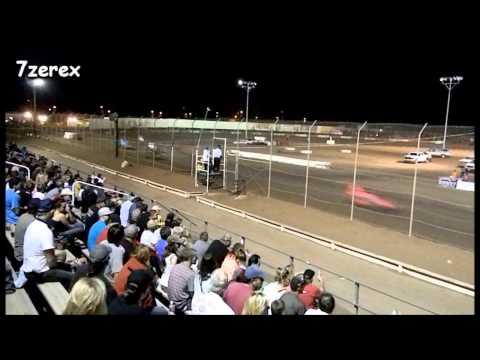 USAC Sprint Car Heat 1 Canyon Speedway Park 5-24-2014