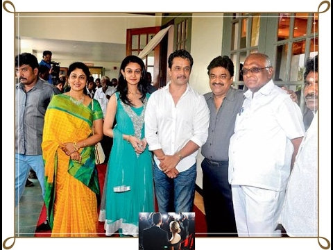 Aishwarya Arjun and family photos with friends and relatives