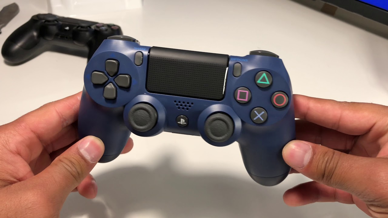 Unboxing NEW Midnight Blue PS4 Controller - YouTube