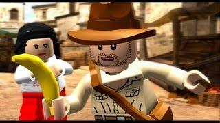 LEGO Indiana Jones: The Original Adventures Walkthrough Part 2 - City of Danger & The Well of Souls