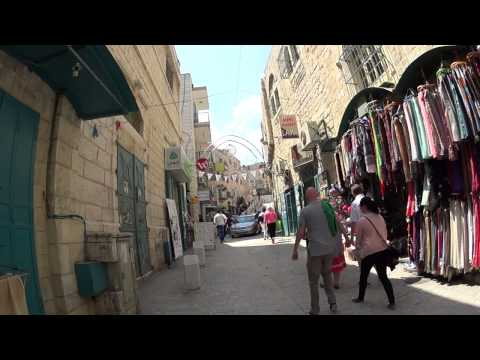A tour of the old city of Bethlehem. Tour guide: Ramzi H Sadi