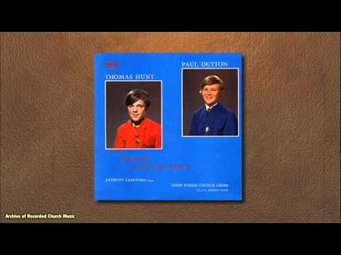"""English & Italian Duets of C17 & 18"": Thomas Hunt (St John's Cambs) & Paul Dutton (Leeds PC) 1972"