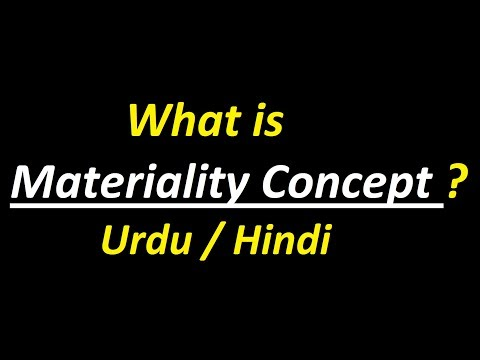 materiality principle definition