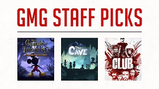 Staff Picks 17th April - 66% off Castle of Illusion, The Cave, and The Club