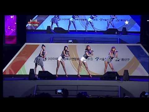 121104 Y-star Live Power Music - Sistar Loving U + Alone