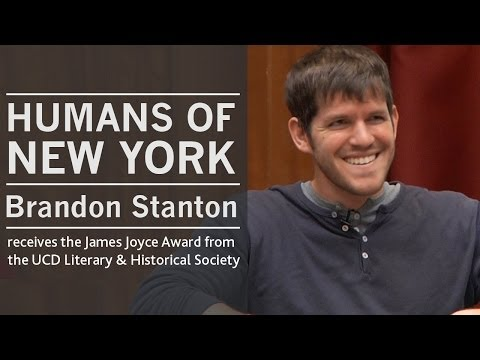 Brandon Stanton (Humans of New York / HONY) | Address to the UCD Literary & Historical Society