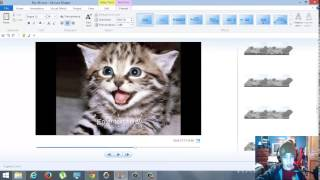 How To  Edit Videos with Windows Movie Maker   Music, Captions, Removing, ect